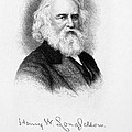 HENRY WADSWORTH LONGFELLOW Poster by Granger