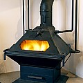 High Efficiency Multi-fuel Stove Poster by Mark Sykes