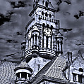 High Noon Black and White Print by Tamyra Ayles