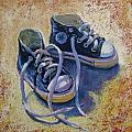 High Tops Poster by Donna Shortt