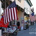 Historic Niles District in California Near Fremont . Main Street . Niles Boulevard . 7D10692 Print by Wingsdomain Art and Photography
