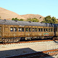 Historic Niles Trains in California . Old Western Pacific Passenger Train . 7D10836 Poster by Wingsdomain Art and Photography