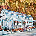 Historic Valley Green Inn Poster by Joyce A Guariglia