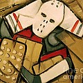 Hockey Goalie Print by Tommervik