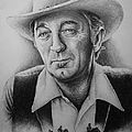HOLLYWOOD GREATS -ROBERT MITCHUM Print by Andrew Read