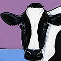 Holstein Poster by LEANNE WILKES