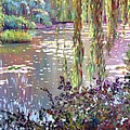 Homage to Monet Print by David Lloyd Glover