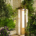 Home Entrance and Courtyard Print by Andersen Ross