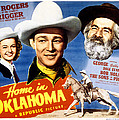 Home In Oklahoma, Dale Evans, Roy Print by Everett