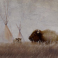 Home On The Range Print by Ron Jones