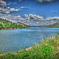 Horsetooth Reservoir Summer HDR Print by Aaron Burrows