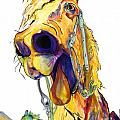 Horsing Around Poster by Pat Saunders-White