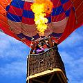 Hot Air Balloon Print by Carlos Caetano