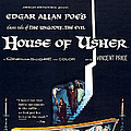 House Of Usher, Aka The Fall Of The Poster by Everett