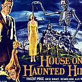 House On Haunted Hill, Left Vincent Poster by Everett