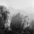 Huangshan Peaks Poster by Vincent Boreux Photography