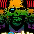 Hypno Obama Zombie Horde Print by Robert Phelps