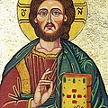 Icon of Jesus As Christ Pantocrator Poster by Ion vincent DAnu