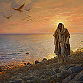 In the World Not of the World Print by Greg Olsen