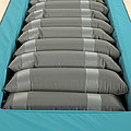 Inflated Hospital Air Mattress Poster by Mark Sykes