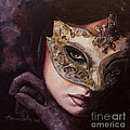 Ingredient of mystery  Print by Dorina  Costras