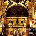 Inside St louis Cathedral Jackson Square French Quarter New Orleans Fresco Digital Art Poster by Shawn OBrien