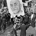 Iranians, Demonstrating In Favor Print by Everett