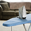 Iron on an Ironing Board Poster by Ben Sandall
