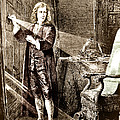 Isaac Newton Ray Of Light Print by Science Source