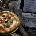 Italy, Tuscany, Florence, A Pizza by Keenpress