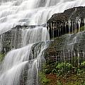 Ithaca Falls Closeup Print by Jeff Bord
