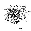 It's Happy Day Print by Thelma Harcum
