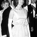 Jacqueline Kennedy At A Dinner To Honor Print by Everett