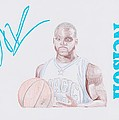 Jameer Nelson Poster by Toni Jaso