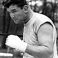 James Braddock In Training For Upcoming Print by Everett