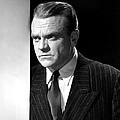 James Cagney, Portrait, 1950s Poster by Everett