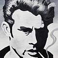 James Dean  Print by Joseph Palotas