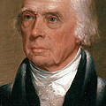 James Madison, 4th American President Print by Photo Researchers