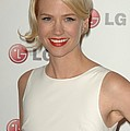 January Jones At Arrivals For A Night Poster by Everett