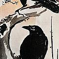 JAPANESE PRINT: CROW Poster by Granger