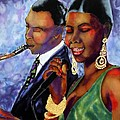 Jazz Duet by Linda Marcille