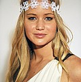 Jennifer Lawrence At Arrivals For 6th Poster by Everett