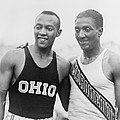 Jesse Owens 1913-1980 With Ralph Poster by Everett