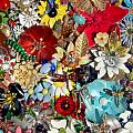 Jeweled Garden Poster by Donna Blackhall