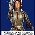 Joan of Arc Saved France Print by War Is Hell Store
