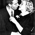 Joe Dimaggio, Marilyn Monroe Print by Everett