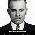 JOHN DILLINGER -- Public Enemy No. 1 Print by Daniel Hagerman