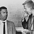 John Lewis Talks With Fellow Freedom Poster by Everett