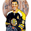 Johnny Bucyk Print by Dave Olsen