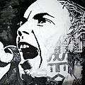 Johnny rotten Poster by Patrick Indo